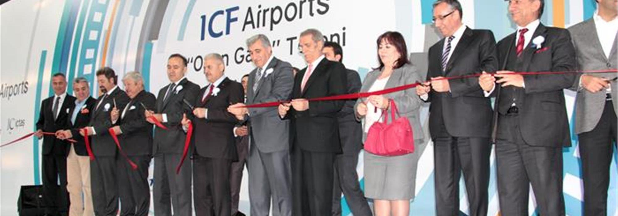 ICF AIRPORTS 'OPEN GATE' CEREMONY